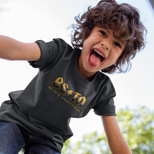 Boston Black & Gold High Voltage Youth T-Shirt
