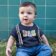 Boston wood block Toddler T-Shirt