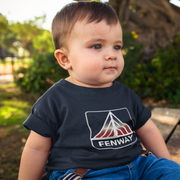 Patriotic Fenway Sign Toddler T-Shirt