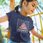 Fenway Stars & Stripes Toddler T-Shirt
