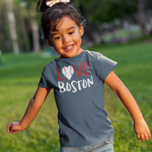 Love Boston Toddler T-Shirt
