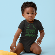 Boston Shamrock Neon Sign Infant One Piece