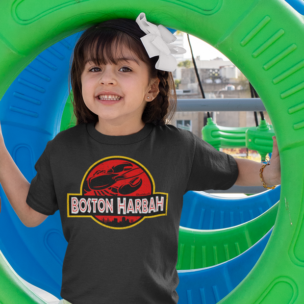 Boston Harbah Lobstah Toddler T-Shirt