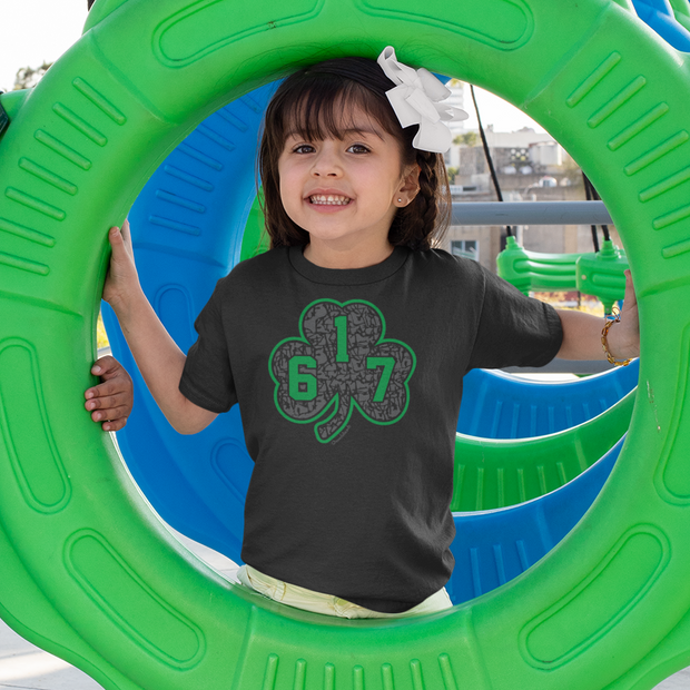 617 Green Street Shamrock Toddler T-Shirt