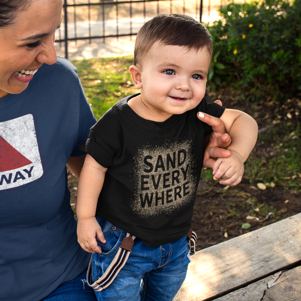 Sand Everywhere Toddler T-shirt