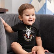 The GOAT 7 Ring Bling Infant One Piece