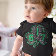 617 Green Street Shamrock Infant One Piece