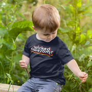 Wicked Awesome Retro Toddler T-Shirt