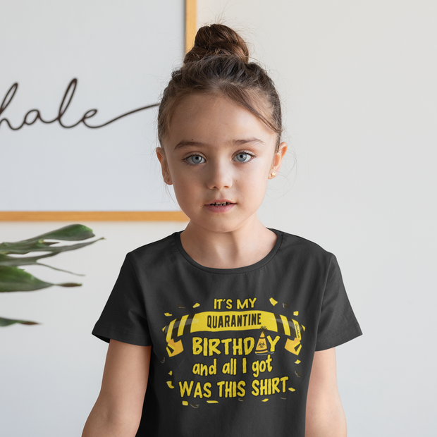 Quarantine Birthday Youth T-Shirt