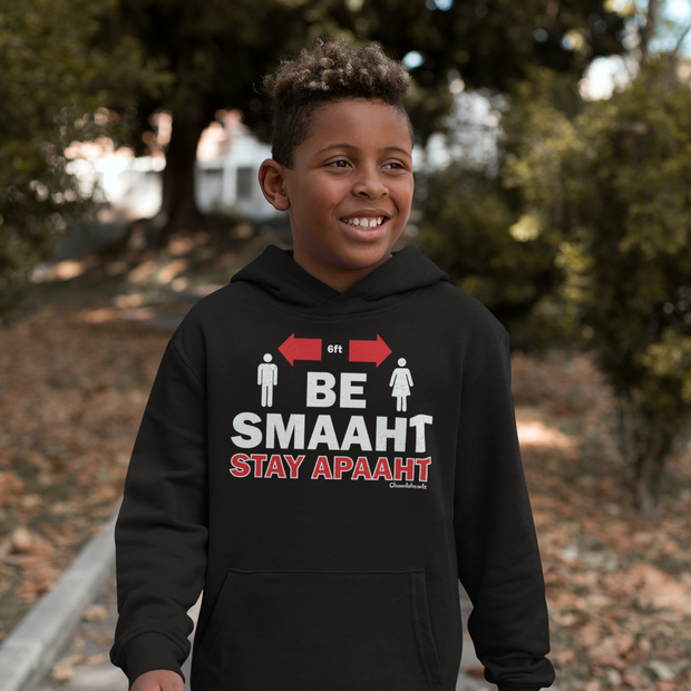Be Smaaht Stay Apaaht Youth Sweatshirt