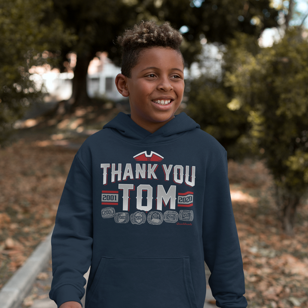 Thank You Tom Youth Sweatshirt