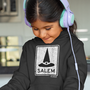 Salem MA Witch Hat Sign Youth Sweatshirt