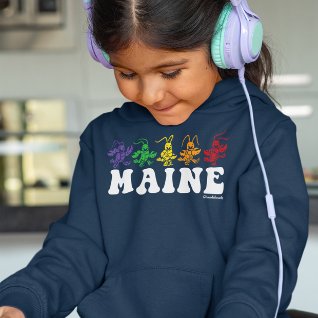 Maine Dancing Lobstahs Youth Sweatshirt
