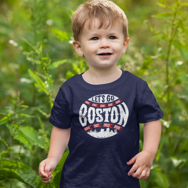 Let's Go Boston Toddler T-Shirt