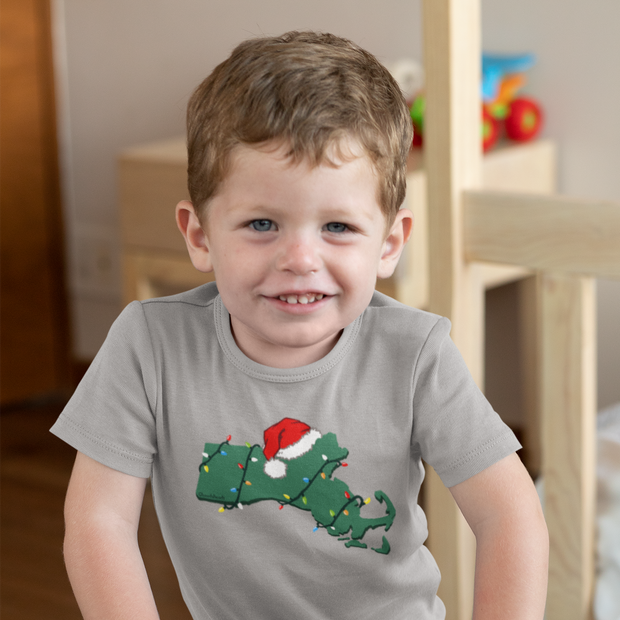 Mass Holiday Cheer Toddler T-Shirt