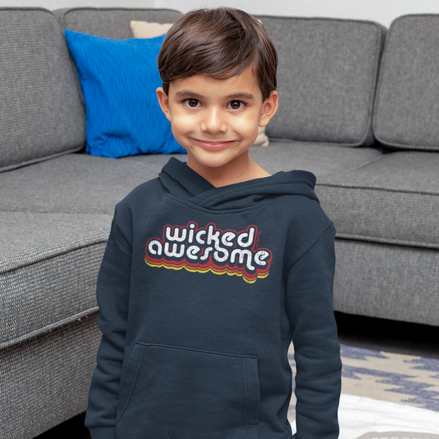 Wicked Awesome Retro Youth Sweatshirt