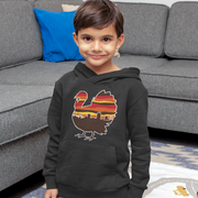 Boston Thanksgiving Turkey Skyline Youth Sweatshirt
