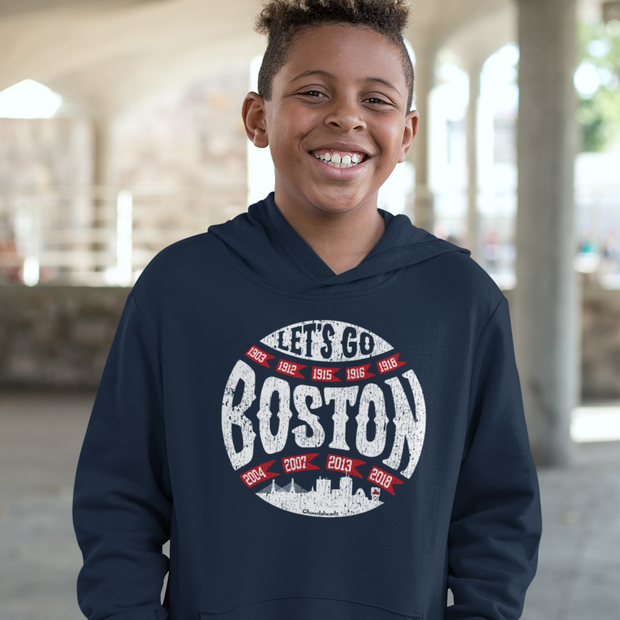 Let's Go Boston Youth Sweatshirt