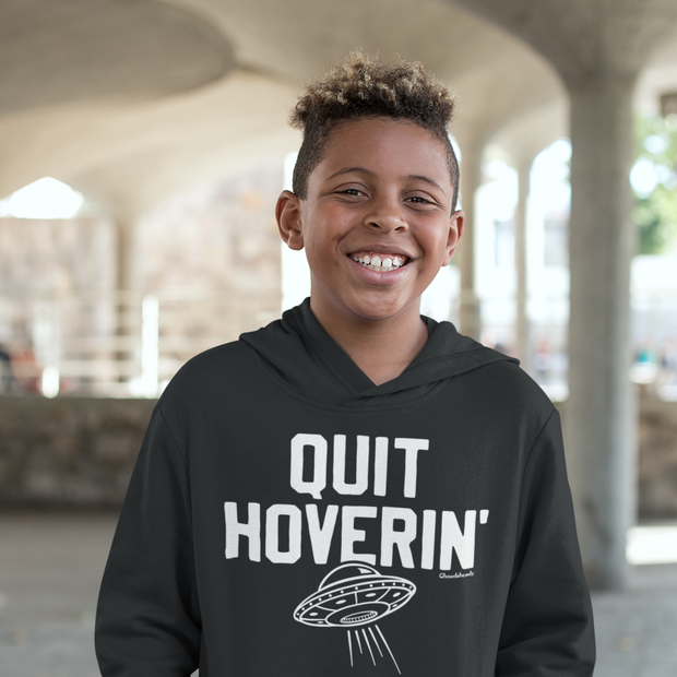 Quit Hoverin' Youth Sweatshirt