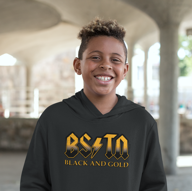 Boston Black & Gold High Voltage Youth Sweatshirt