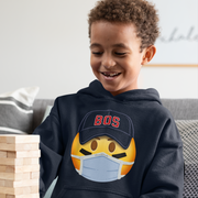 Baseball Maskmoji Youth Sweatshirt