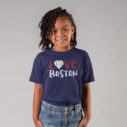 Love Boston Baseball Youth T-Shirt