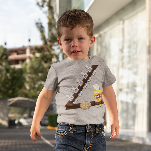Sanitizer Bandolier Toddler T-Shirt