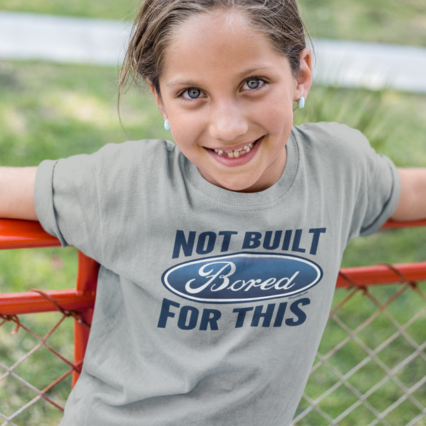 Bored: Not Built For This Youth T-Shirt