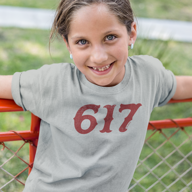 Boston 617 Team Spirit Youth T-Shirt