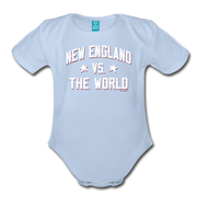 New England VS The World Infant One Piece - sky
