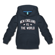 New England VS The World Kids Hoodie - navy