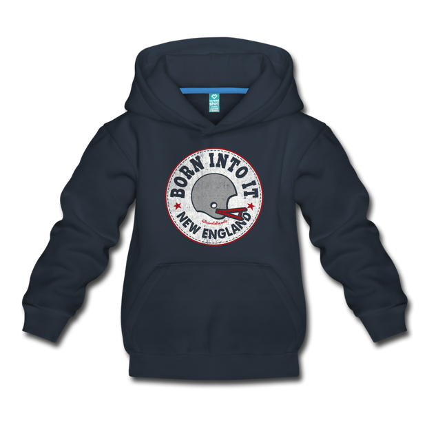 Born Into It New England Youth Sweatshirt - navy
