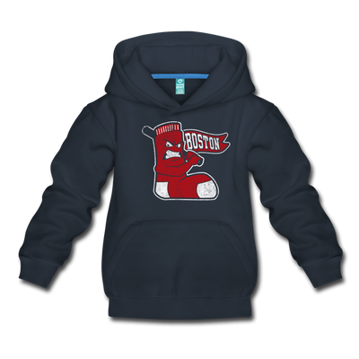 Boston Mad Battah Youth Sweatshirt - navy