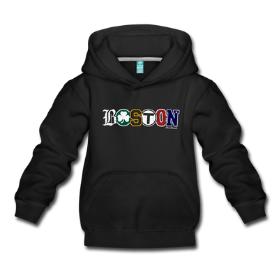 Boston All Sports Youth Sweatshirt - black