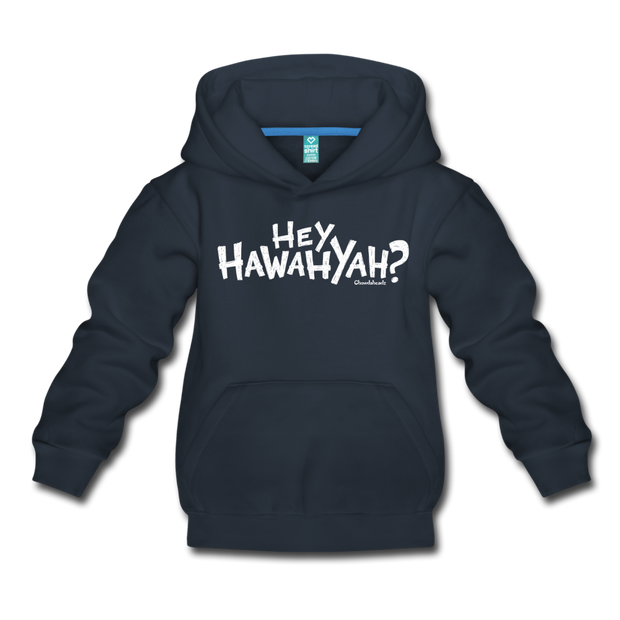 Hey Hawahyah Kids Youth Sweatshirt - navy