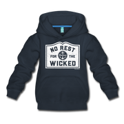 No Rest For The Wicked Kids Youth Sweatshirt - navy