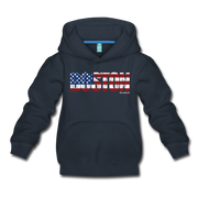 Boston USA Kids Youth Sweatshirt - navy