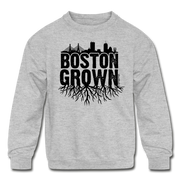Boston Grown Kids Youth Sweatshirt - heather gray