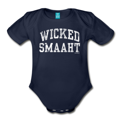 Wicked Smaaht Infant One Piece - dark navy