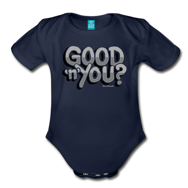 Good N You Infant One Piece - dark navy