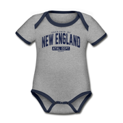 Property of New England Infant One Piece - heather gray/navy