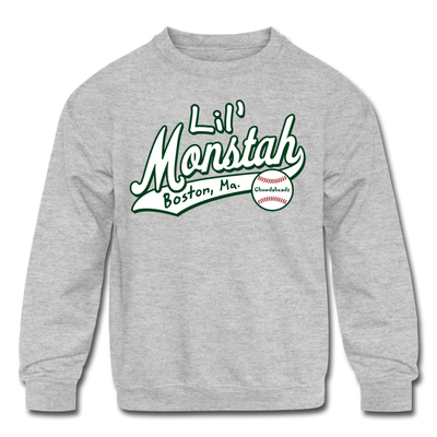 Lil Monstah Youth Sweatshirt - heather gray