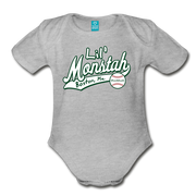 Lil Monstah Infant One Piece - heather gray