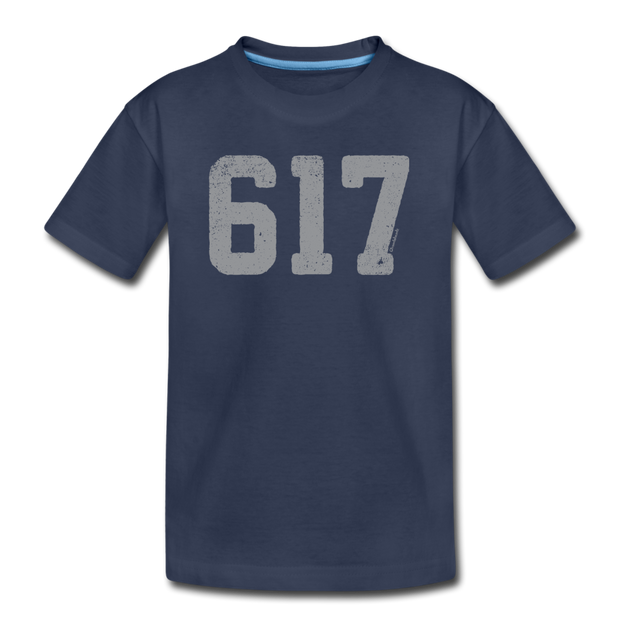 617 Classic Youth T-Shirt - navy