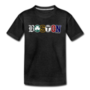 Boston Townie Pride Youth T-Shirt - charcoal gray