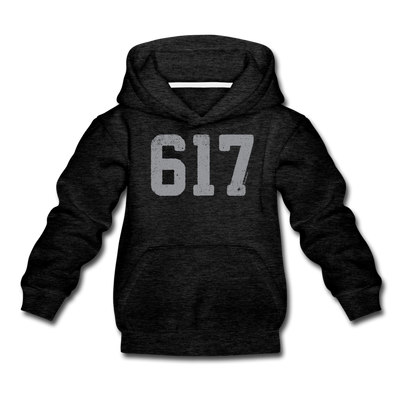 617 Classic Youth Sweatshirt - charcoal gray