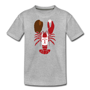 Boston Baseball Youth Lobster - heather gray