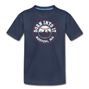 Born Into It Baseball Youth T-Shirt - navy