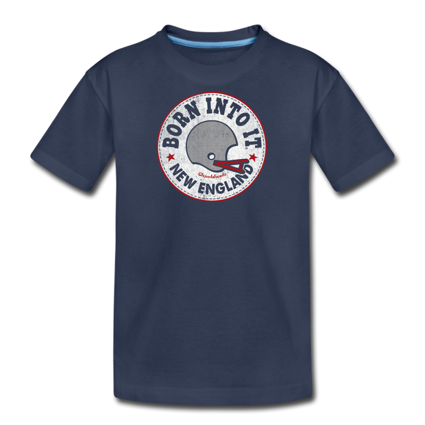 Born Into It New England Youth T-Shirt - navy