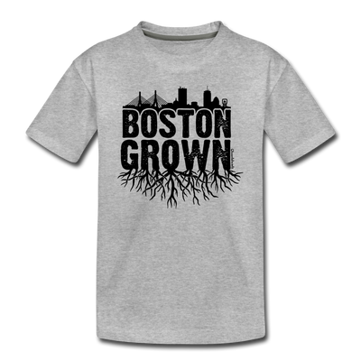 Boston Grown Toddler T-Shirt - heather gray